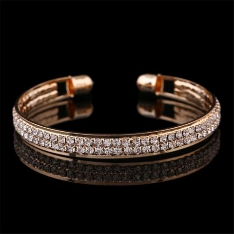 браслет металл золото