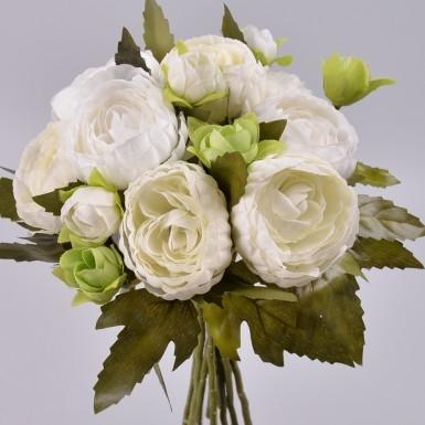 бело-мятные букеты свадебные фото