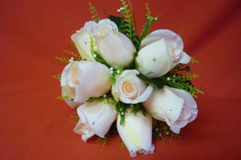 букет дублер розы айвори купить