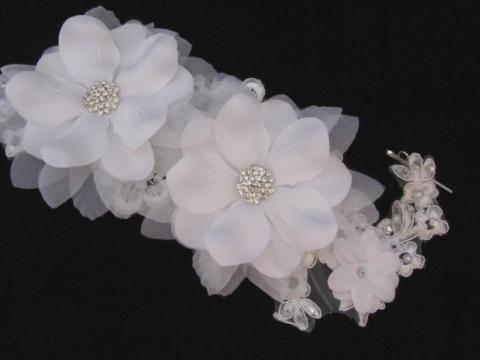 прическа цветок фото