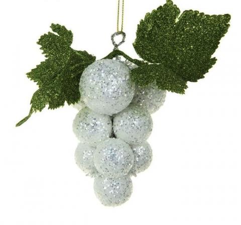 елочная игрушка виноградная гроздь фото