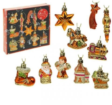 елочные украшение на рождественский венок фото