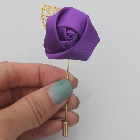 бутоньерка фиолетовая фото