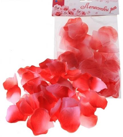 искусственные лепестки роз