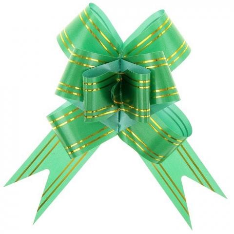 зеленый бант для подарков купить