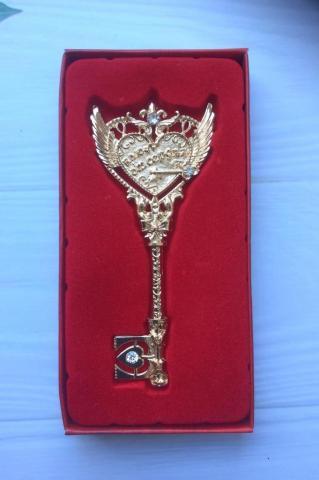 ключ от сердца сувенирный фото