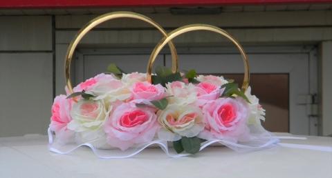 кольца намашину бело-розовые фото