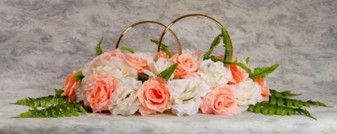 кольца на машину персиковые фото