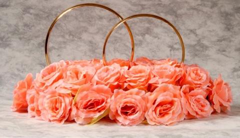 персиковые кольца на машину купить