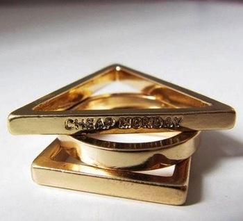 кольцо из трех колец купить