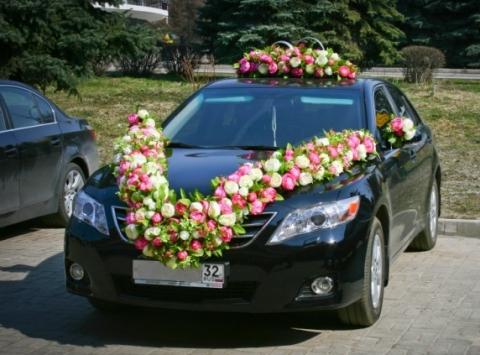 пионы на свадебную машину комплект купить
