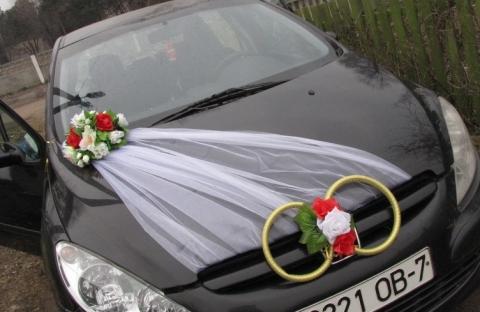 комплект украшений на машину купить