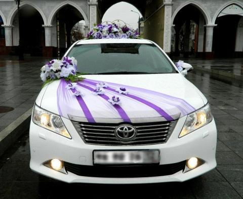 фиолетовые украшения на машину купить