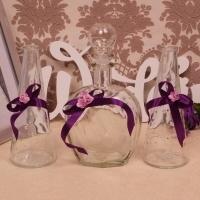 песочная церемония фиолетовая