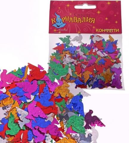 конфетти голуби