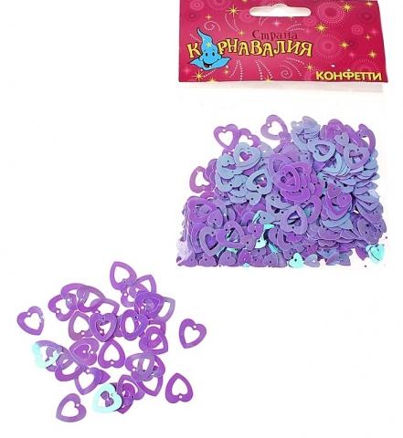 конфетти сердечки рамки