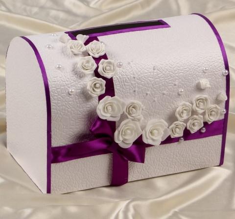 фиолетовые свадебные украшения фото