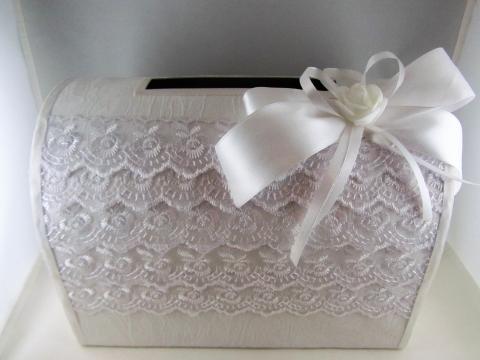 коробка для денег белая на свадьбу купить