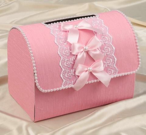 сундучок розовый купить