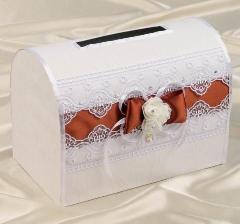 коричневые свадебные аксессуары фото