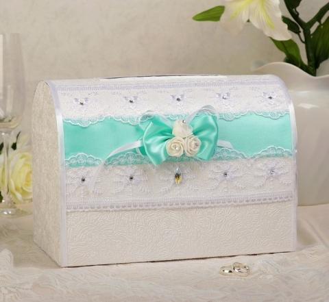 свадебная коробка тиффани картинка