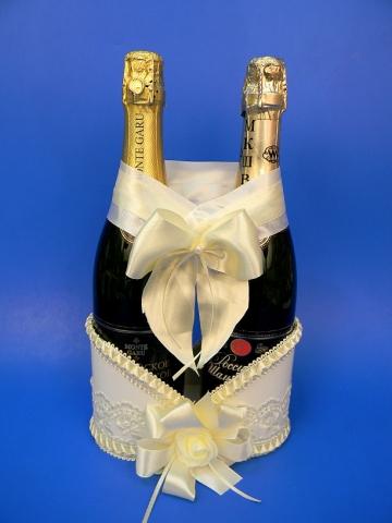 корзинка для шампанского айвори купить