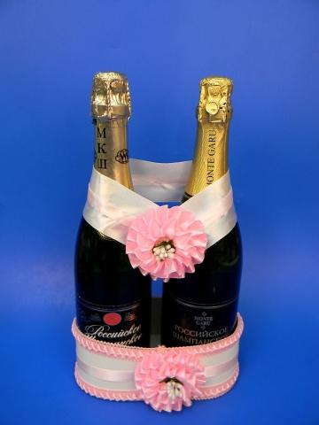 розовое свадебное шампанское купить