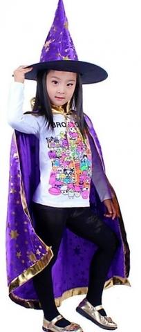 костюм волшебника фиолетовый купить
