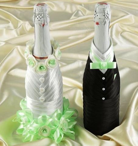 свадебные шампанское тиффани купить