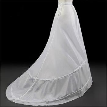 нижняя юбка для платья со шлейфом