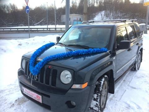 лента на машину ярко-синяя фото