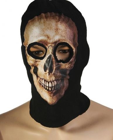 маска череп с улыбкой