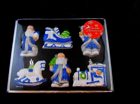 елочные мини игрушки фото