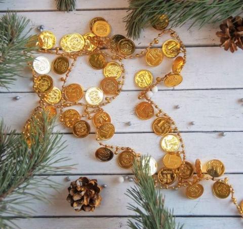 денежки на елку фото