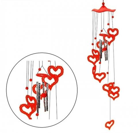 музыка ветра красные сердца