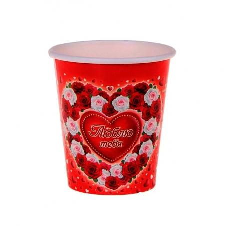 стакан одноразовый романтика купить
