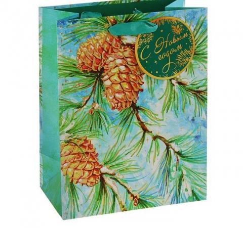 подарочный новогодний пакет с шиечками фото