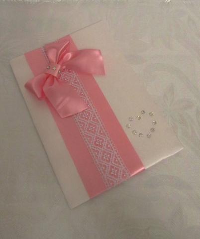 папка для свидетельства о браке розовое фото