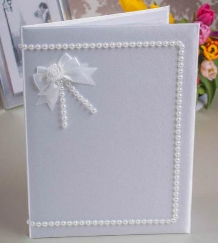папки для свидетельств о браке ручной работы