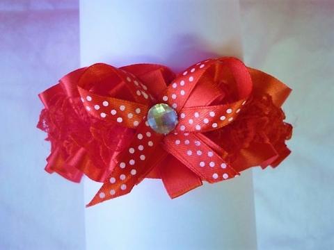 подвязка невесты красная купить