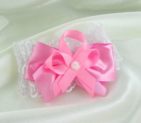 розовая подвязка купить