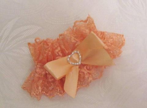 персиковые подвязки фото
