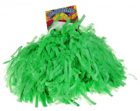 султанчики для детского танца зеленые матовые