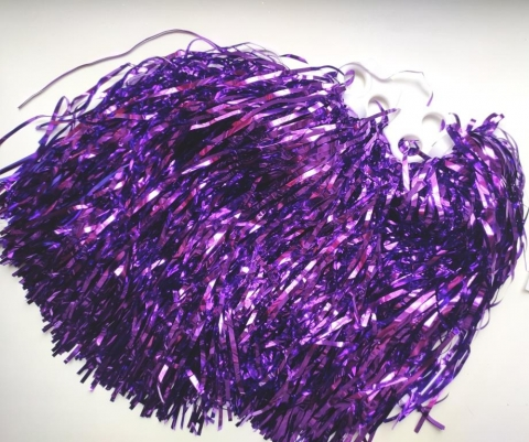 помпоны для танфа фиолетовые фото