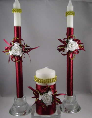 бордовые свечи домашний очаг купить