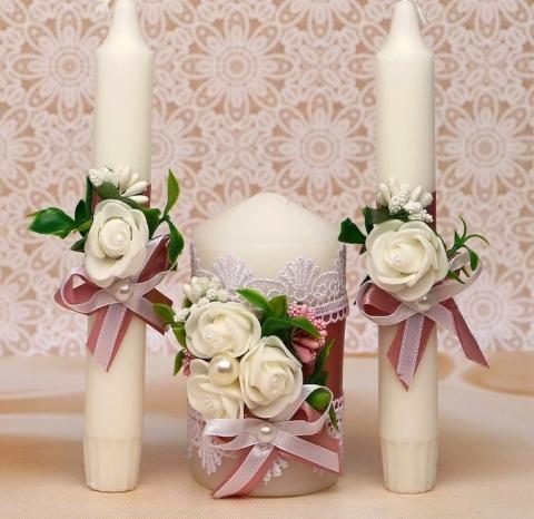 лавандовый очаг на свадьбу фото