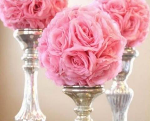 шар из искусственных роз купить