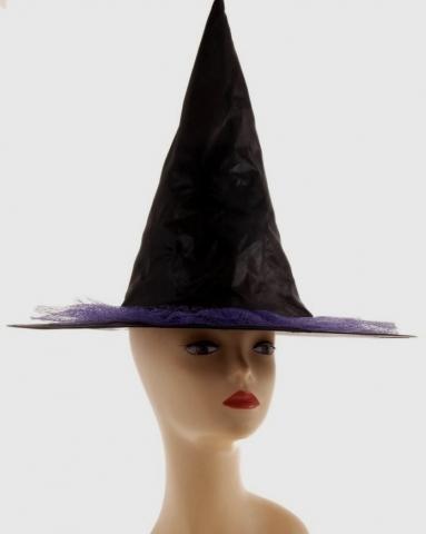 шляпа колпак черная