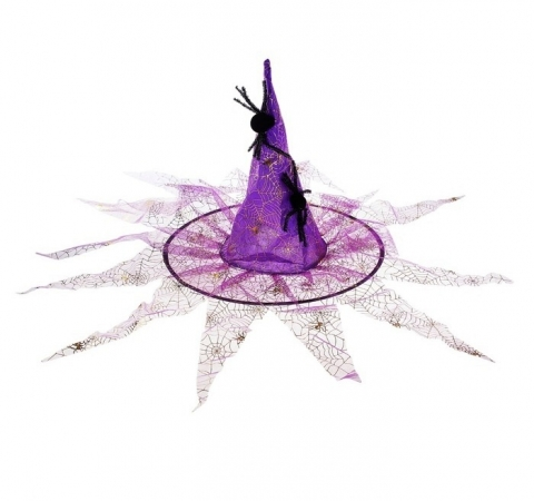 шляпа ведьмы с пауком