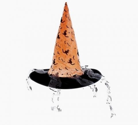 шляпа ведьмы с лентами